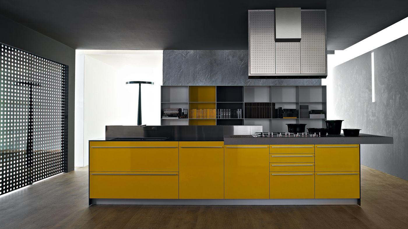 Decoraci n de cocinas amarillas - Cocinas amarillas ...