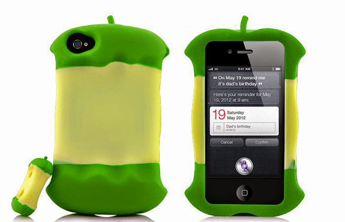 apple shaped smartphone