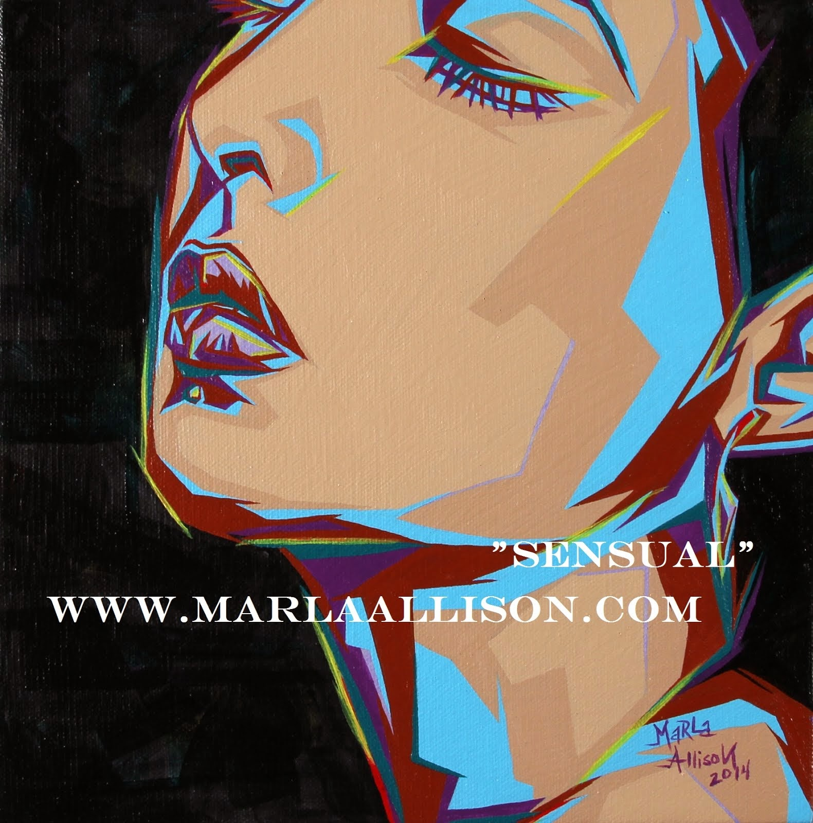 Paintings by Marla Allison