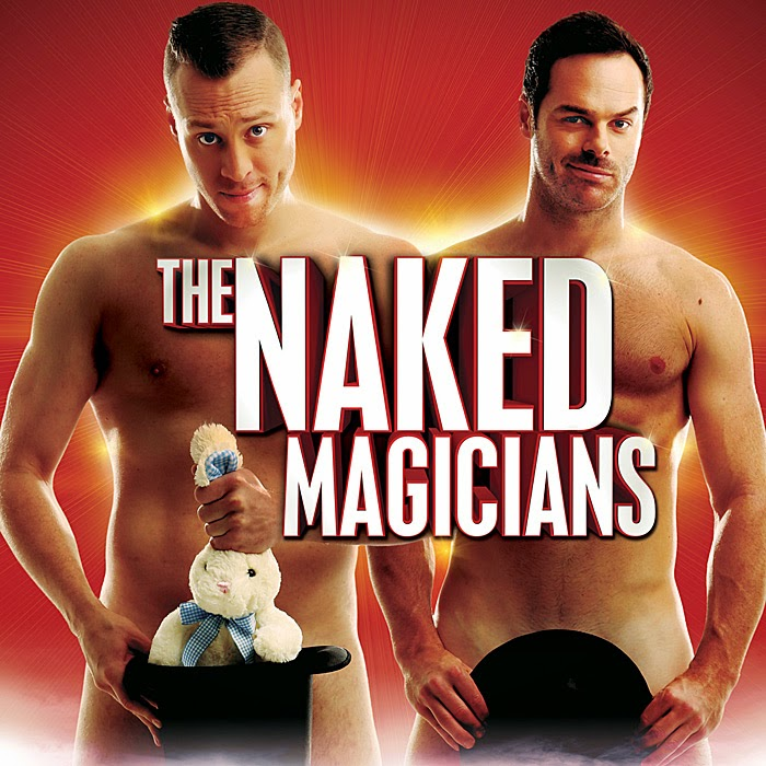 adelaide fringe - the naked magicians