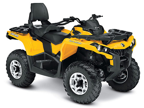 2013 Can-Am Outlander MAX DPS 800R ATV pictures. 480x360 pixels