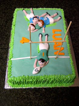 Luan's Rugby Cake