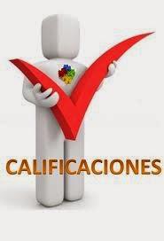 CALIFICACIONES DEL GRUPO 2251