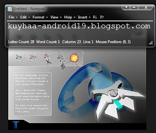 KUMPULAN CURSOR WINDOWS 7 COOL