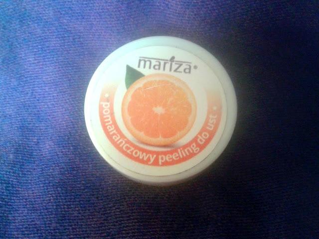 Mariza, Cukrowy peeling do ust, pomarańczowy - recenzja