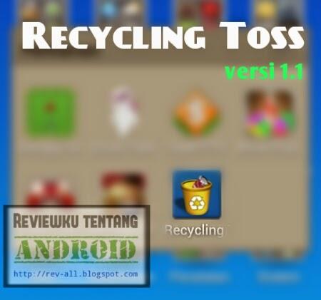 Ikon permainan recycling toss - lempar sampah pada tempat sampah versi 1.1 (ulasan oleh rev-all.blogspot.com)