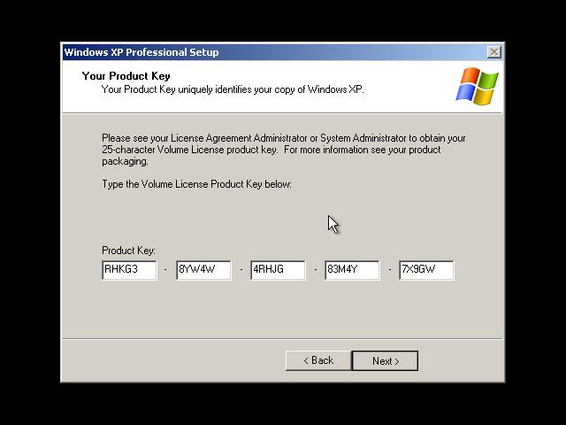 windows xp pro micro karan pc On window xp key