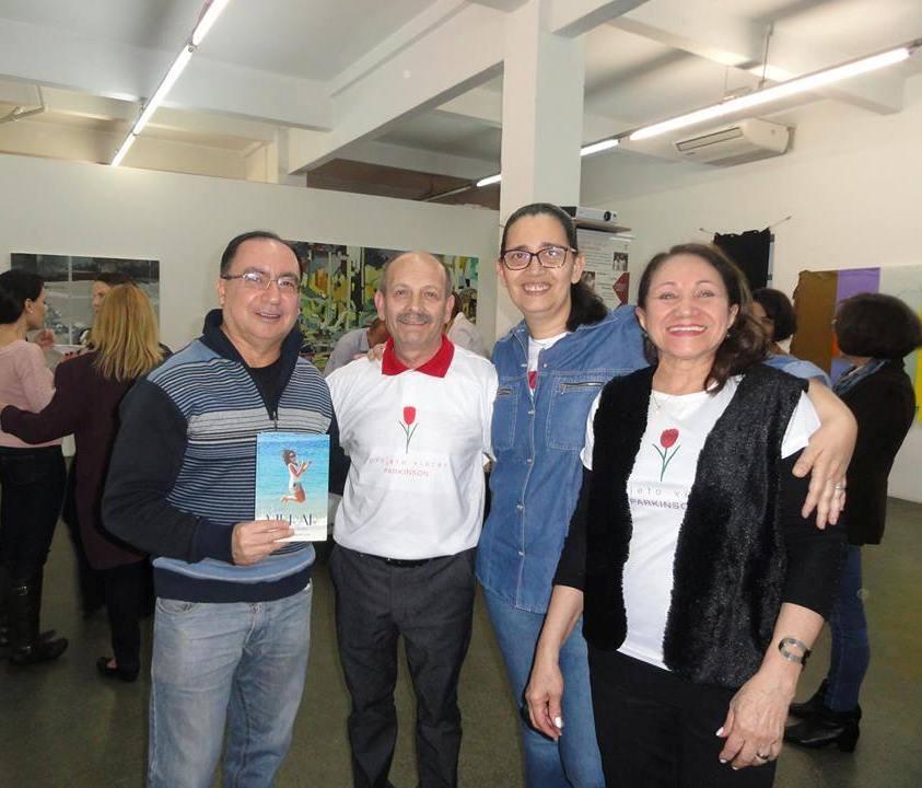 Manoel e Lu com Honório e Marcia Derrico