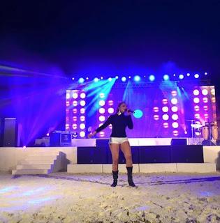 Natasha Rathnayake Maldives Dance