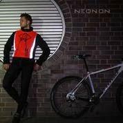 reflektierende Fahrrad