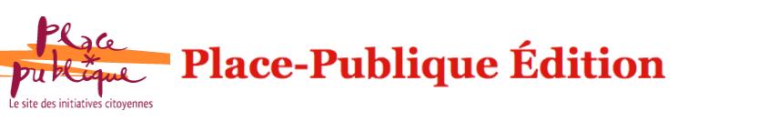 Place-Publique Édition
