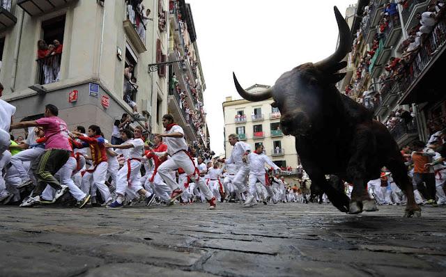 San Fermin - Φεστιβάλ ταυρομαχίας στην Παμπλόνα