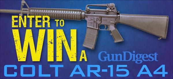 Enter the Colt AR-15 A4 Giveaway. Ends 5/31.
