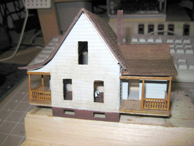 how to build model houses from scratch