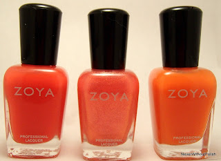 From left to right: Zoya Kate, Zoya Belle, Zoya Coraline