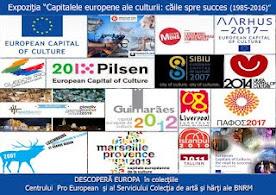 """Expoziția """"Capitalele europene ale culturii: căile spre succes (1985-2016)"""""""