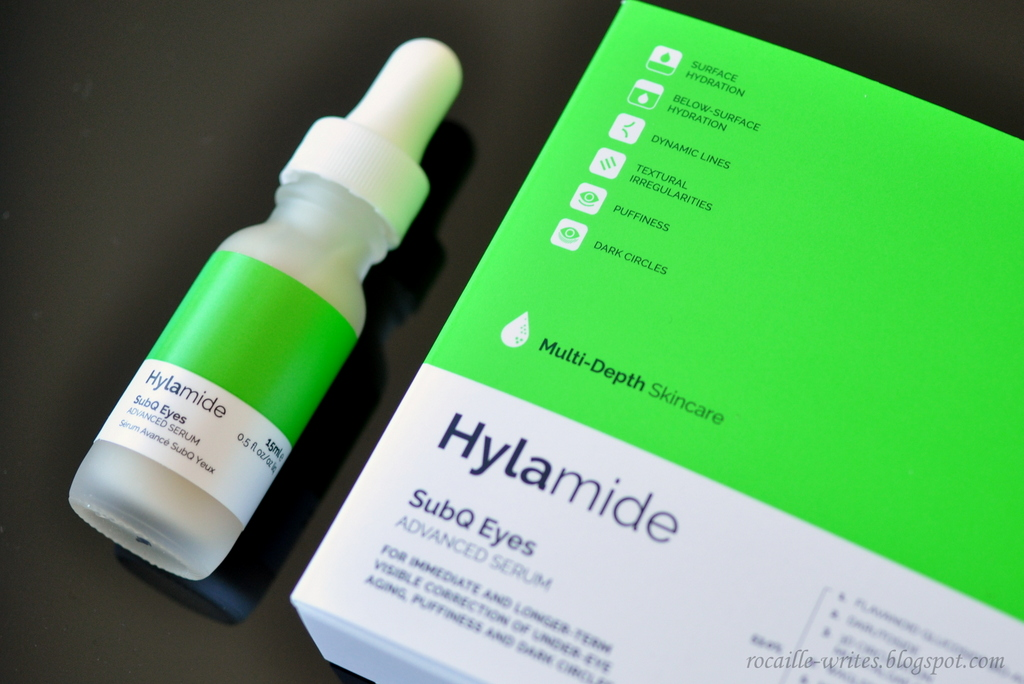 On My Radar: Deciem Hylamide SubQ Eyes Serum
