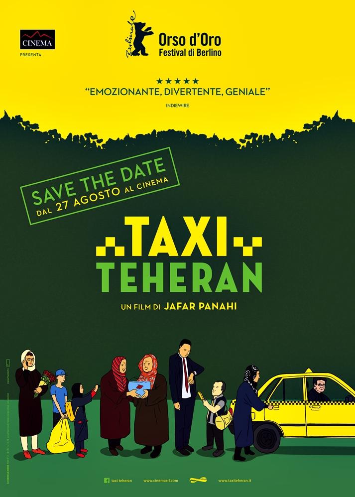 Póster: Taxi Teherán