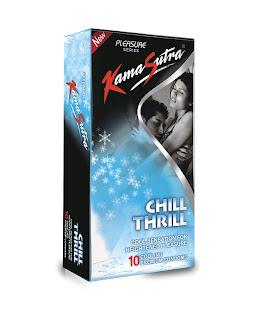 Kamasutra Chill Thrill Condoms