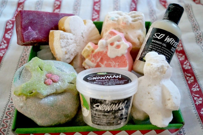 Santa Claus is Coming to Town Lush Gift Set