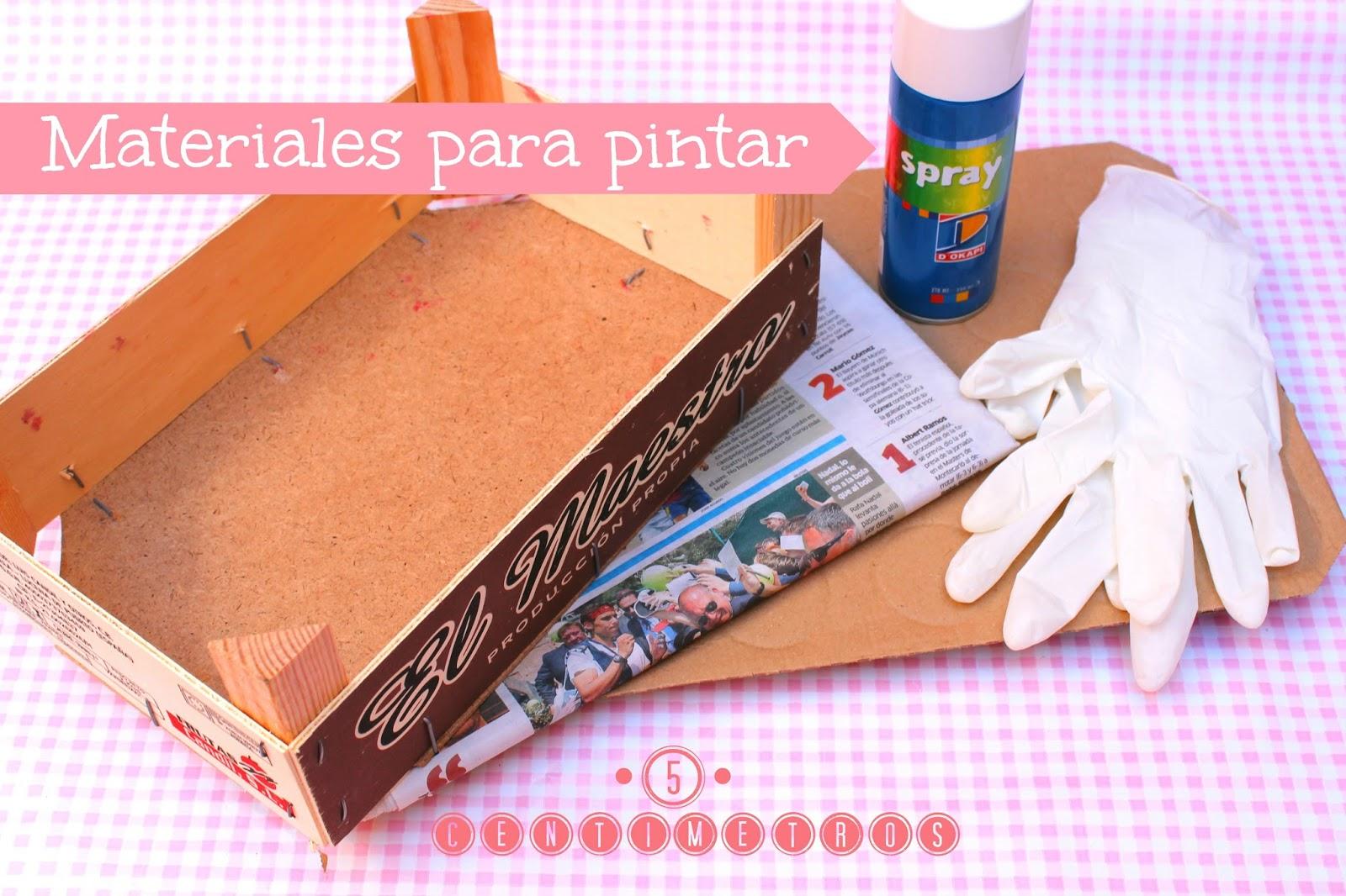 Diy decorar una caja de fruta 5centimetros - Como decorar cajas de fruta ...
