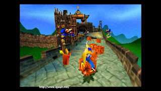 Download Crash Bandicoot Warped 3 PS1 For PC Full Version