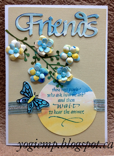 Quietfire creations a way with words friends welcome to a way with words each day during this event were sharing projects made with the brand new elizabeth craft designs word dies m4hsunfo