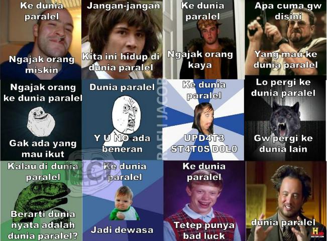 Meme Comic Indonesia Blog: Perbedaan Meme Dan Rage Comic