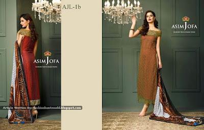 Asim Jofa Luxury Eid Collection 2015