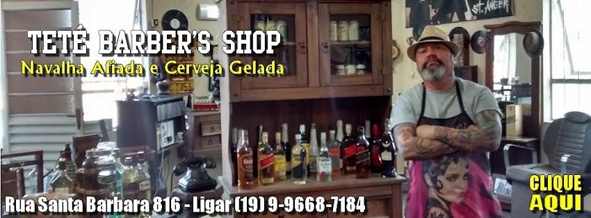 Teté Barber's Shop Navalha Afiada e Cerveja Gelada