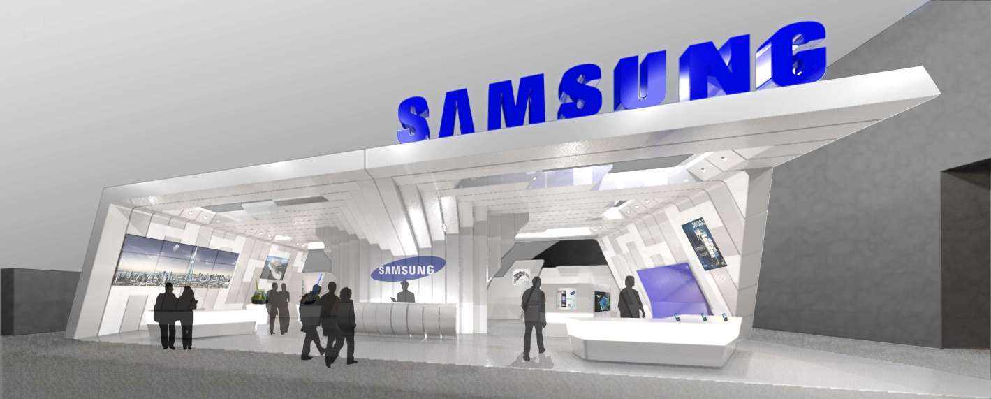 Samsung Exhibition Booth Design : I what learn ★§ environmental design precedent