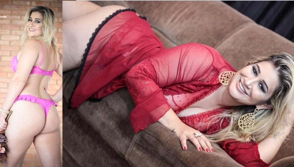 Modelo sensualiza em ensaio arrepiante e deixa fãs babando... Confira...