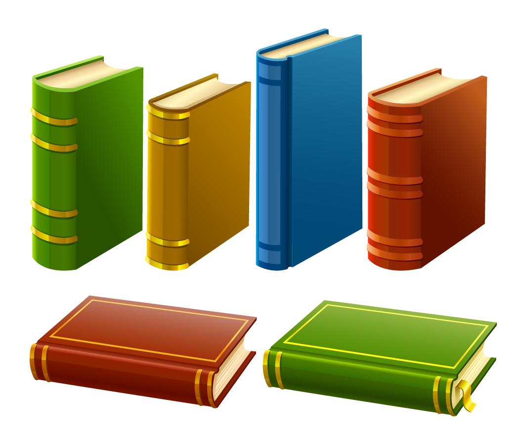 厚い書籍のクリップアート book vector イラスト素材