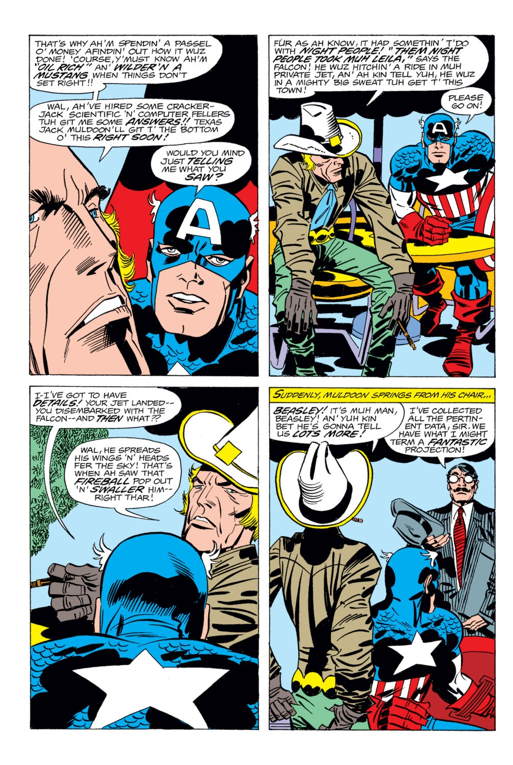 Captain America (1968) Issue #202 #116 - English 4