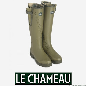 Crown Princess Mary style Le Chameau Vierzon boots