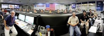 Laboratorio de Propulsión a Chorro en Pasadena, California, monitor Curiosity
