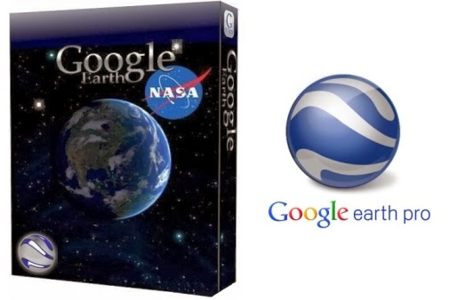 google earth pro 7.1 with key + crack