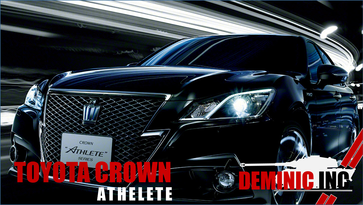 DEMINIC AutoIMPORT  TOYOTA CROWN ATHLETE FOR SALE IN SINGAPORE