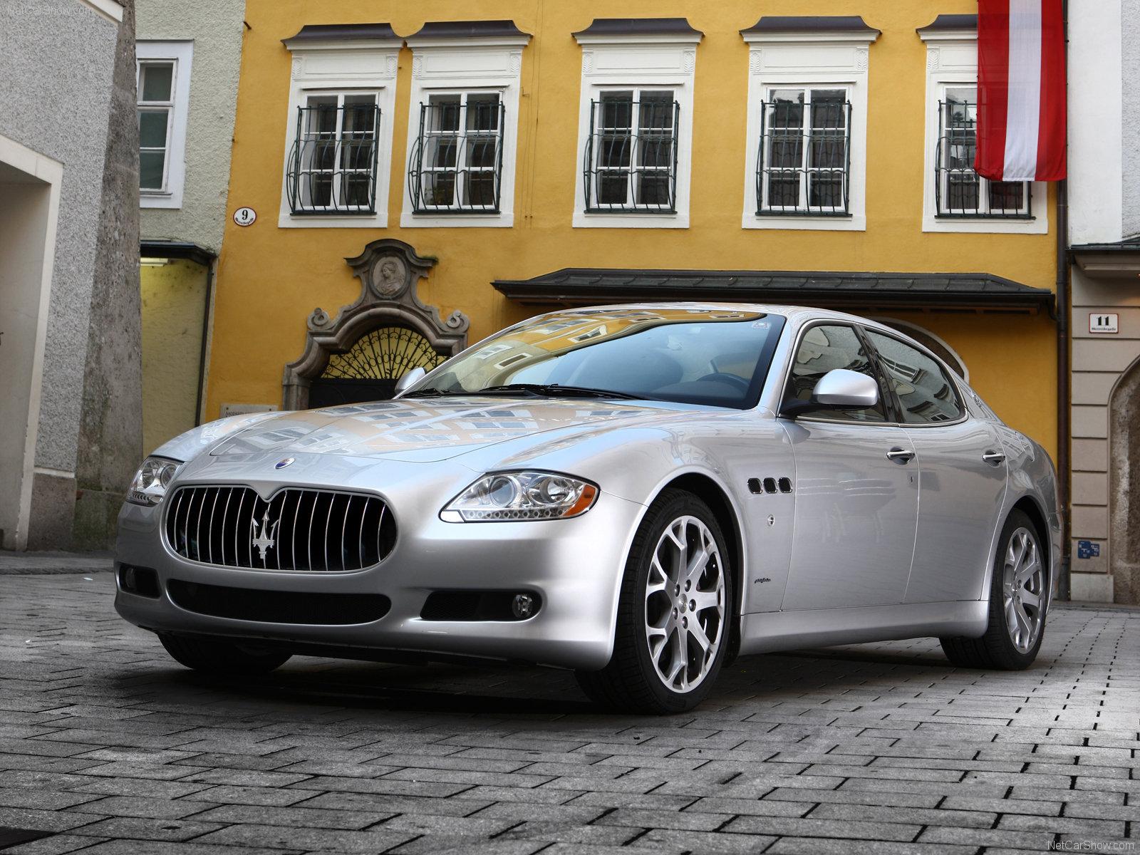 Hình ảnh siêu xe Maserati Quattroporte 2009 & nội ngoại thất