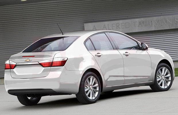 novo Chevrolet Cruze 2015 traseira