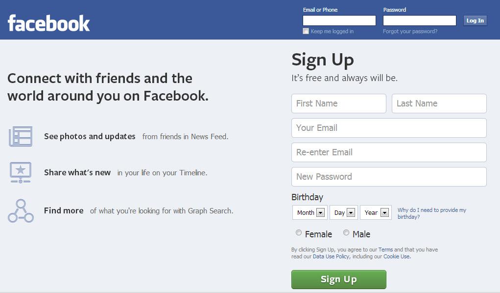 facebook how to delete login notices