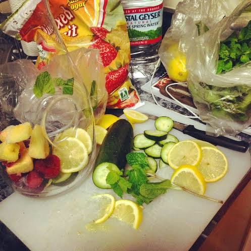 detox water, fitspo, weight loss, diet, good health, water, clean eating