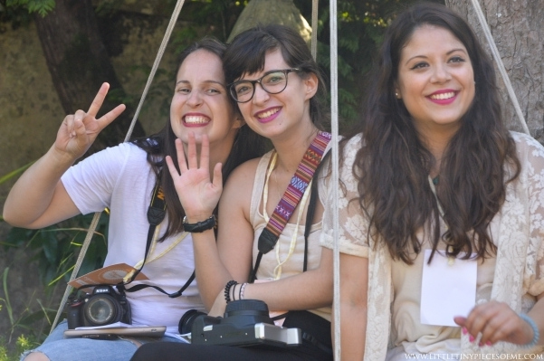 organizadoras do Bloggers Camp