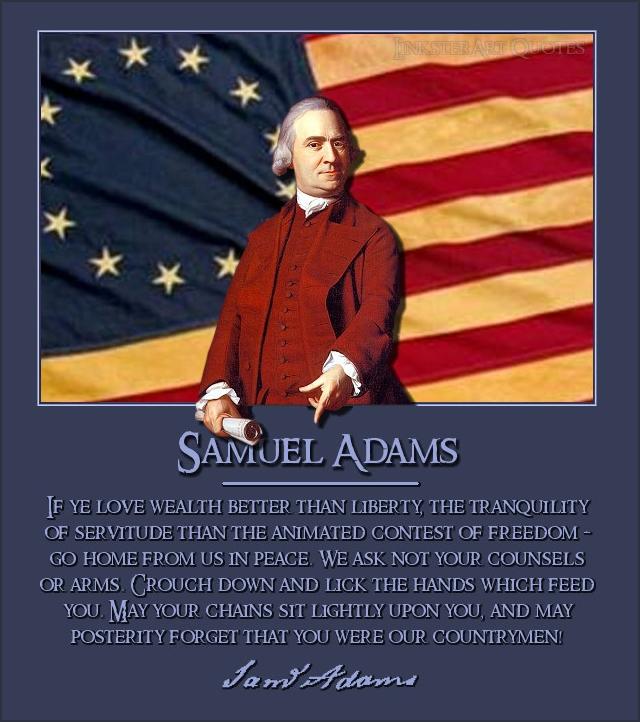 Samuel Adams American Revolution Quotes