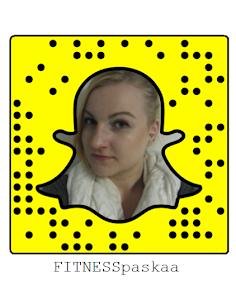 #FITNESSpaskaa Snapchatissa!
