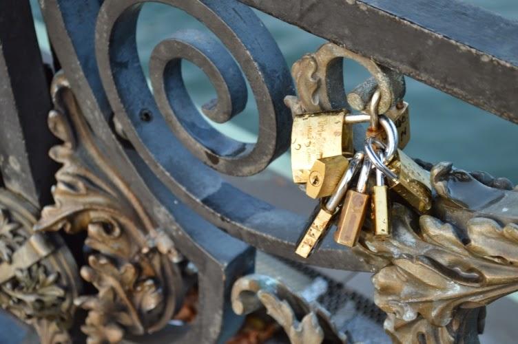 lock, love, paris, bridge
