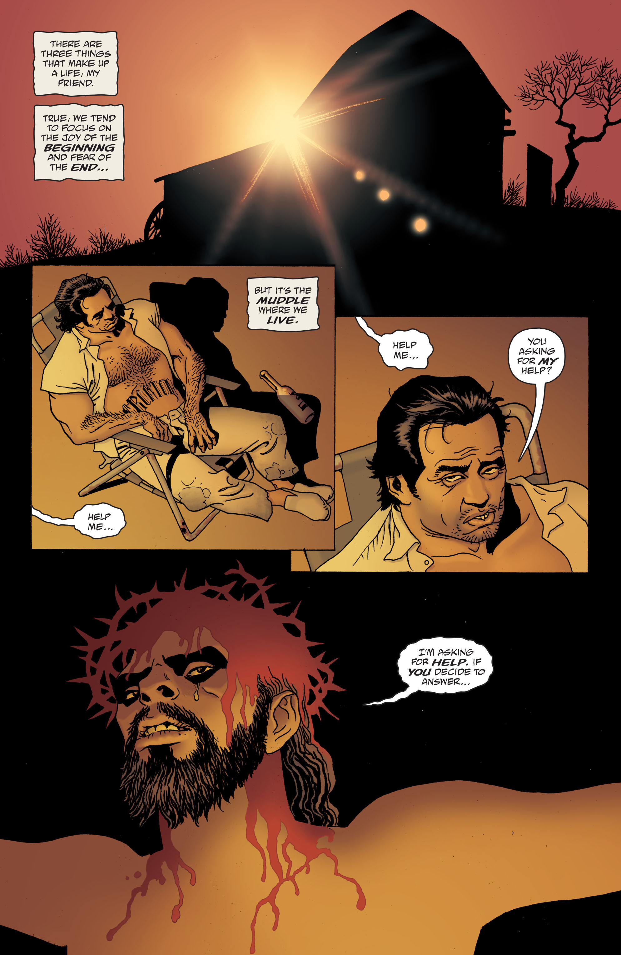 100 Bullets: Brother Lono Full Page 102