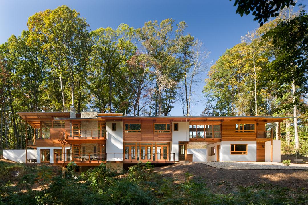Casa de campo fachada lateral - Construir casa de campo ...