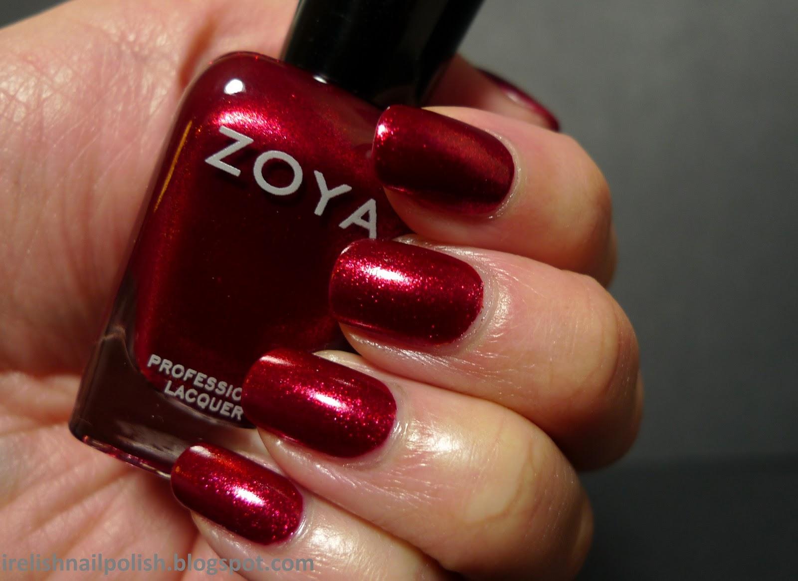 Zoya Gold Foil Nail Polish | Hession Hairdressing