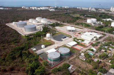 planta de almacenamiento de combustibles en el salvador